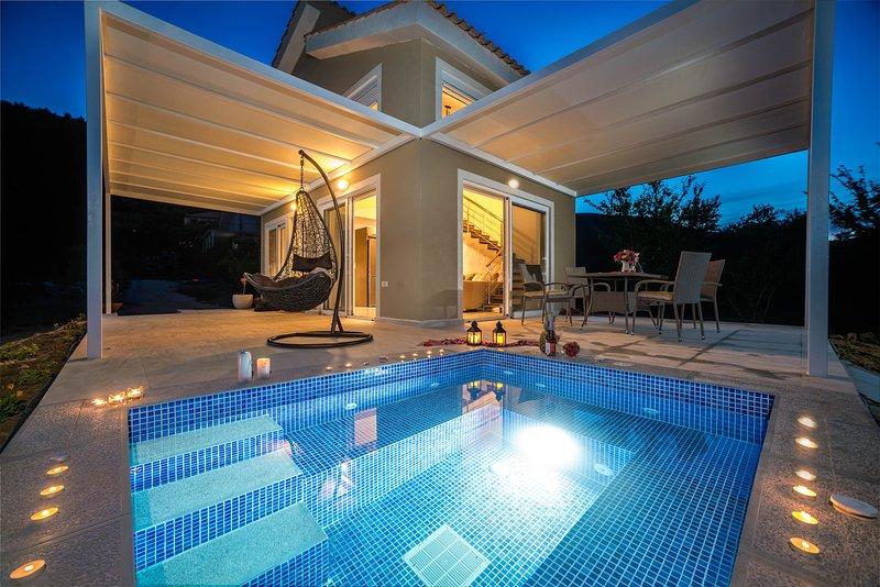 Villa natura private jacuzzi (sea view), holiday rental in Laganas