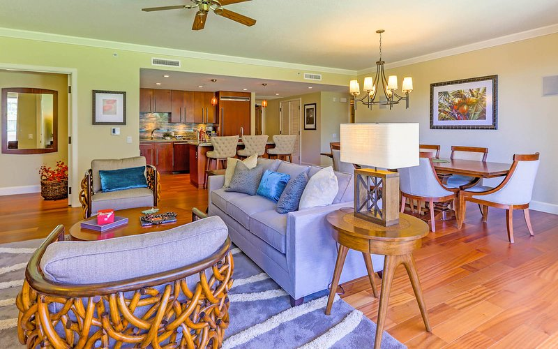 An expansive 3 bedroom residence with 1950 sq. ft. of interior living area