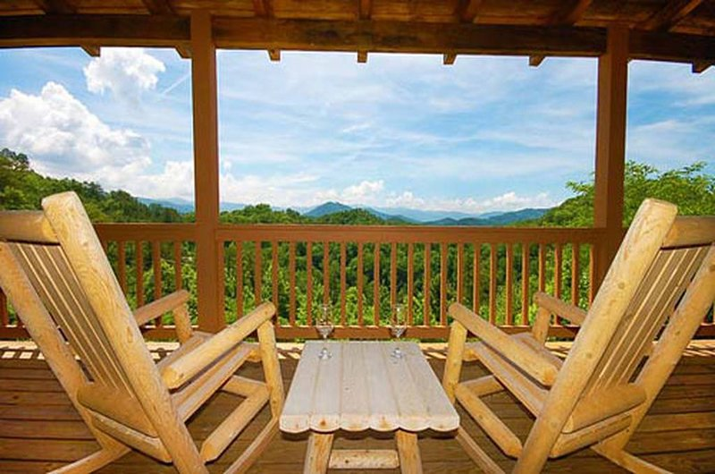 Sit back and enjoy the awesome mountain views