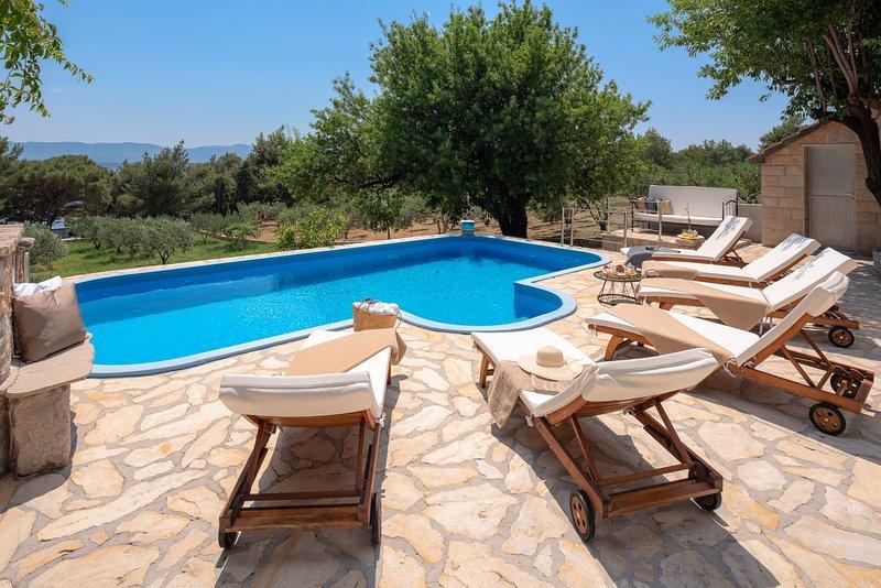 Villa Zlatni Rat, casa vacanza a Murvica