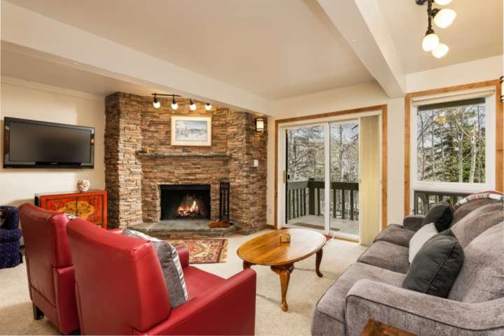 Snowmass Slopeside Condo.  Patio w/Gas Grill, Parking, Elevator, Wood-burning FP Chalet in Aspen