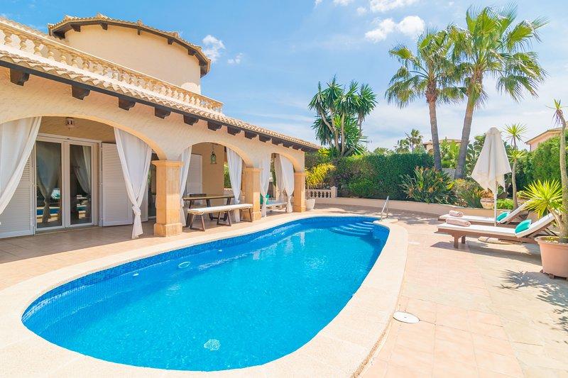CASA BEL - Villa for 6 people in Son Serra De Marina, holiday rental in Son Serra de Marina