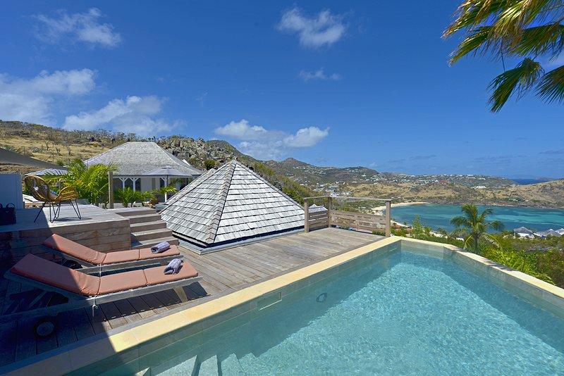 Villa Lagon Bleu, Ferienwohnung in Saint-Barthélemy