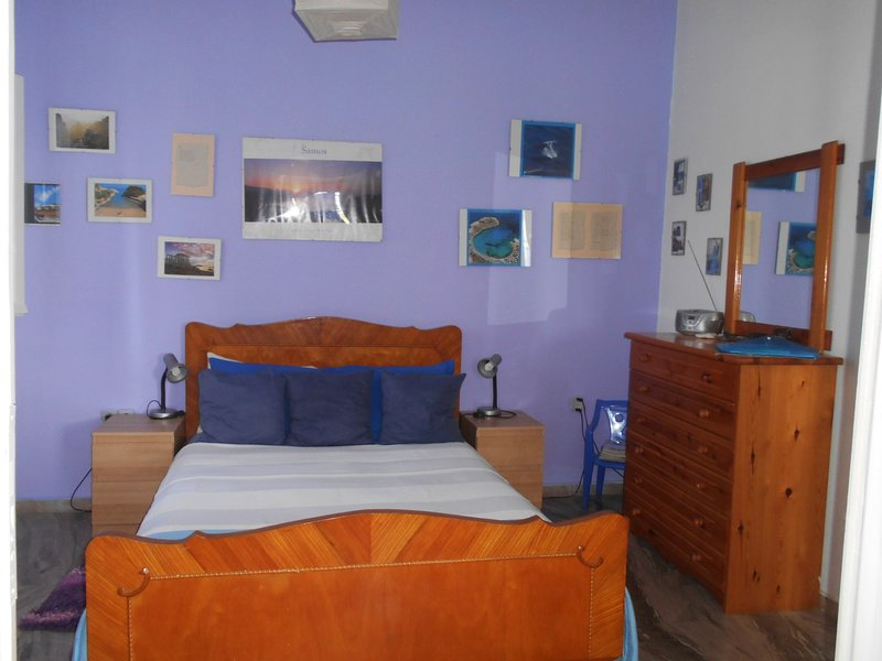 Nice apartment with shared pool, holiday rental in Votsalakia