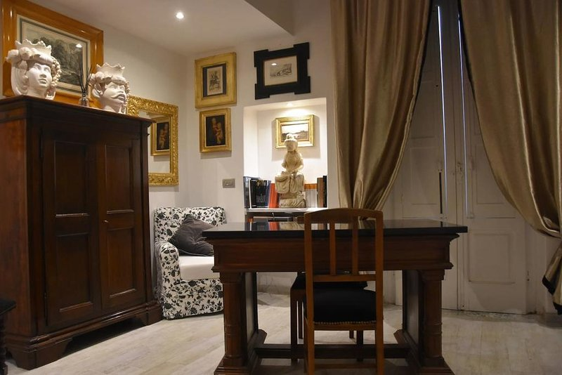 Nice studio with balcony & Wifi, holiday rental in Ferrandina