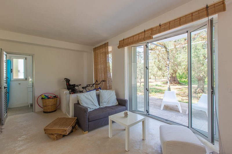 LA PICCOLA LAMIA SURROUNDED BY OLIVE TREES, holiday rental in Pezze di Greco