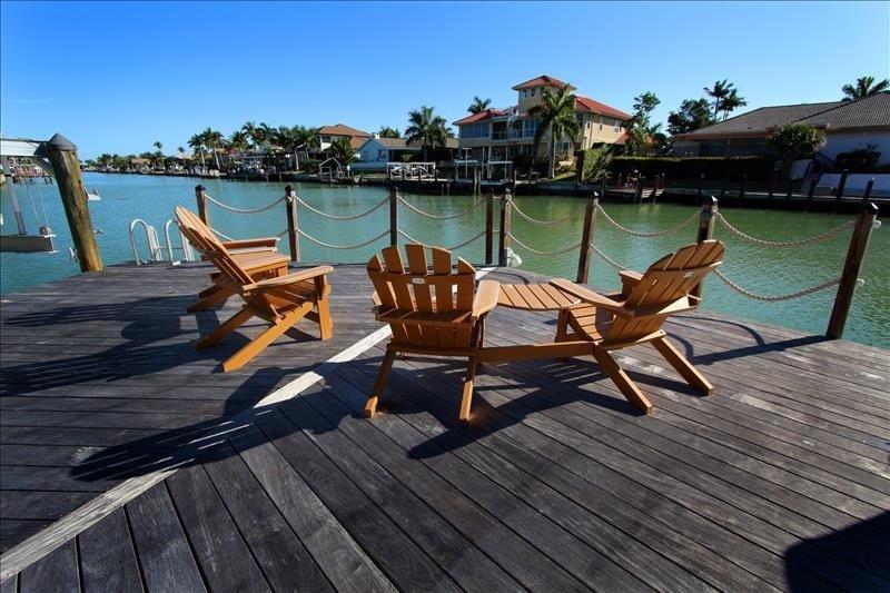 Enjoy Sitting on Private Dock