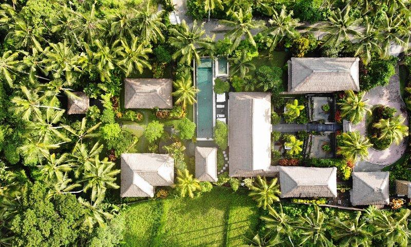 Villa Kanti Bird's Eye View