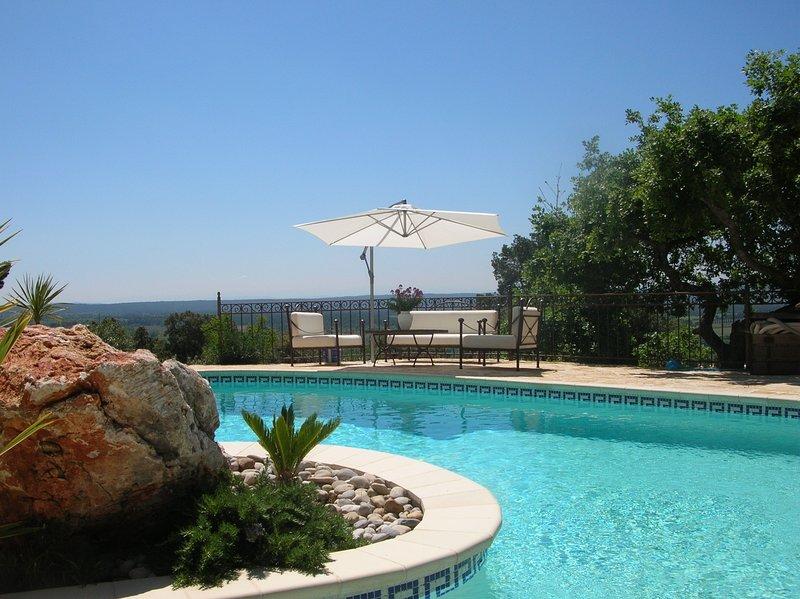 Villa avec studio indépendant et Piscine, location de vacances à Moissac-Bellevue