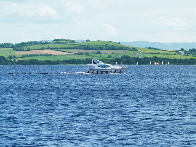 A view across Lough Derg from Dromann Harbour