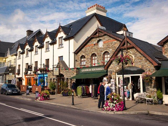 Glengarriff Village.