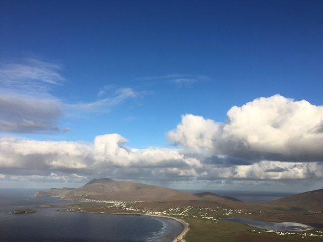 Scène de l'île d'Achill