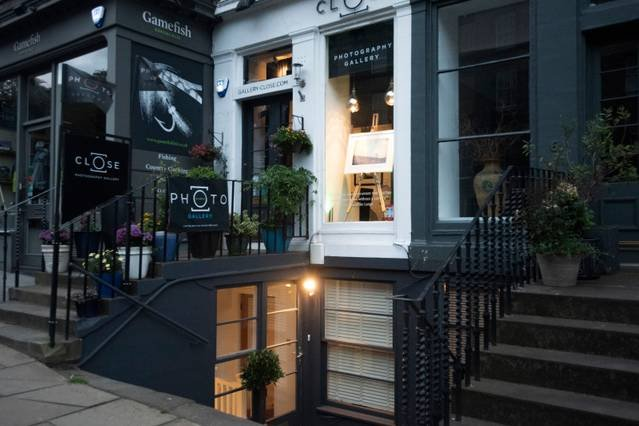 Our immediate neighbours are wonderful galleries and boutique shops