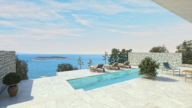 Beautiful Villa Visola, on the Island of Vis, holiday rental in Vis