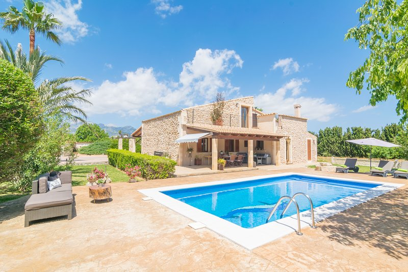 FINCA MIRALLES - Villa for 6 people in Buger, vacation rental in Buger