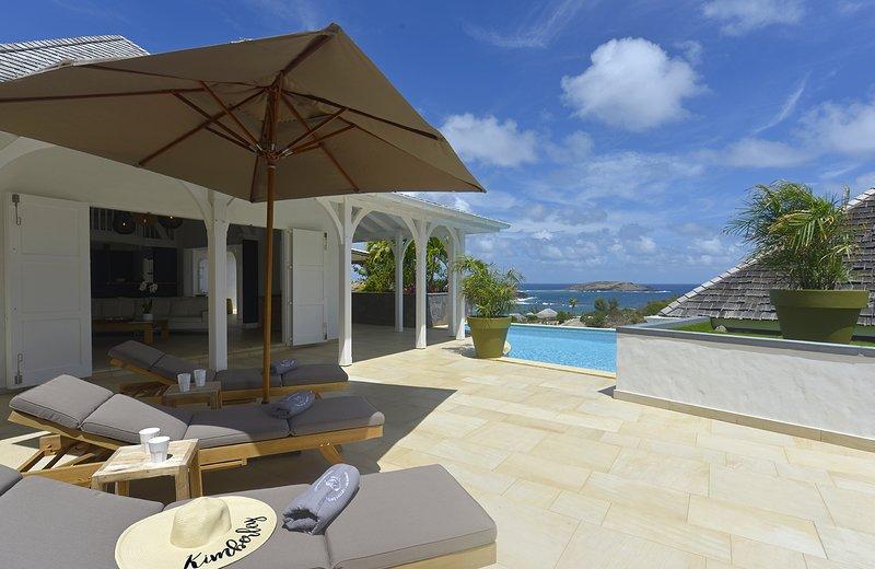Villa Lagon Jaune, Ferienwohnung in Saint-Barthélemy
