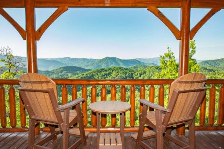 Amazing views of the Great Smoky Mountains!