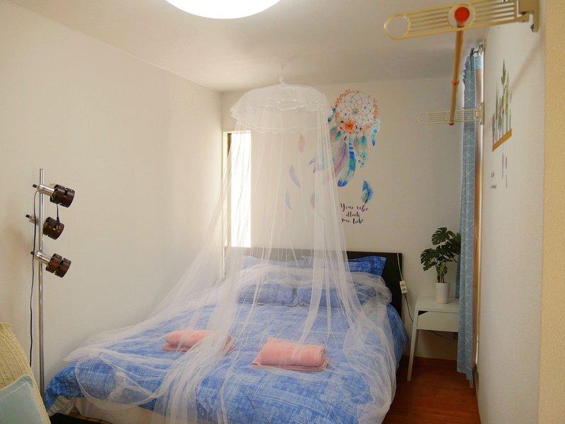 bedroom(one big bed)