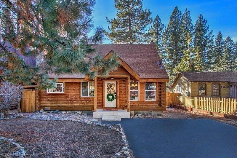 Postal Momento nuestra cabaña en Tahoe