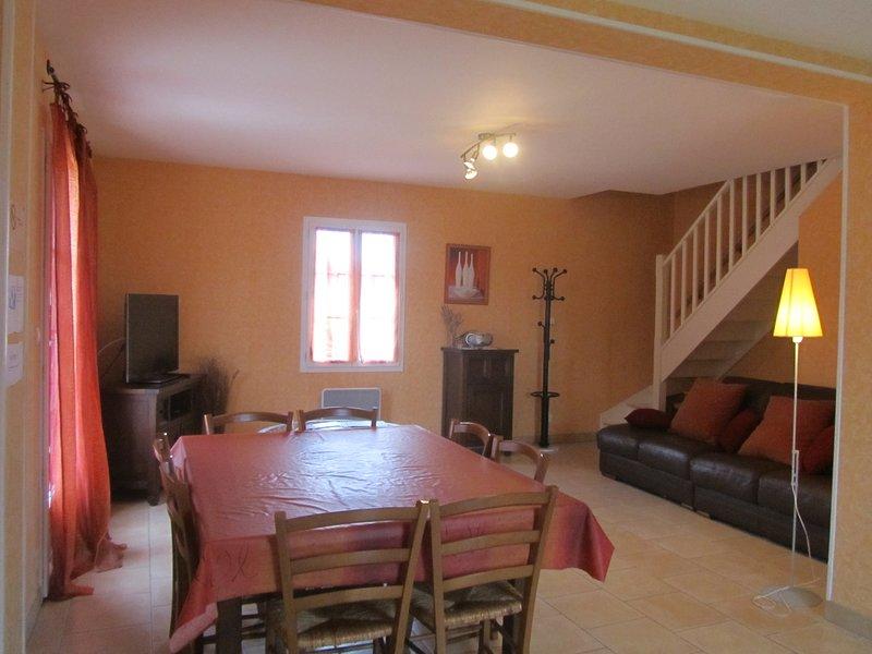Beautiful house with private heated pool, near Futuroscope, location de vacances à Ingrandes