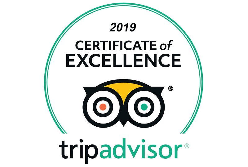 Certificado Tripadvisor otorgado por Butterfly Garden Villa