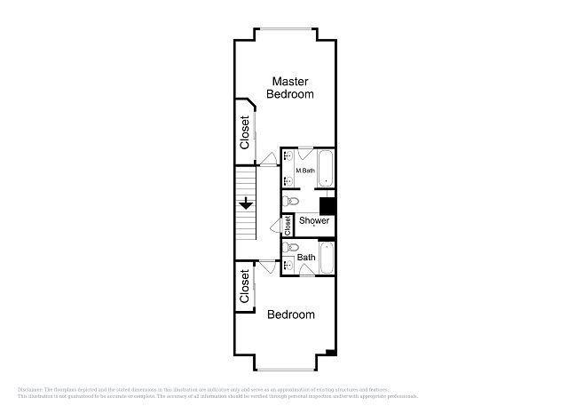 Plano de planta - 2do piso
