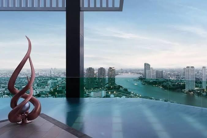 Rhythm Sathorn for rent - 1BR/35sqm/30th Fl./near BTS/City (Fully furnished), holiday rental in Phra Pradaeng