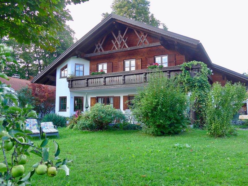 F****Nichtraucher-Fewo in Murnau a. Staffelsee, Zugspitzregion, KönigsCard, alquiler de vacaciones en Ohlstadt