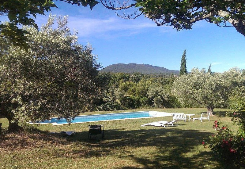 Holiday cottage in Cucuron, Luberon, intimate plot, pool, pets allowed, vacation rental in Cucuron