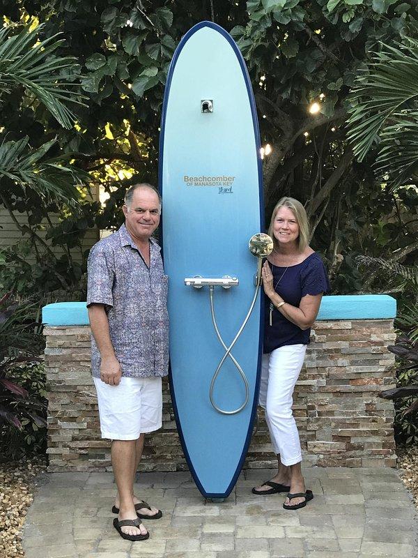 Nous sommes impatients de vous rencontrer à Beachcomber of Manasota Key!