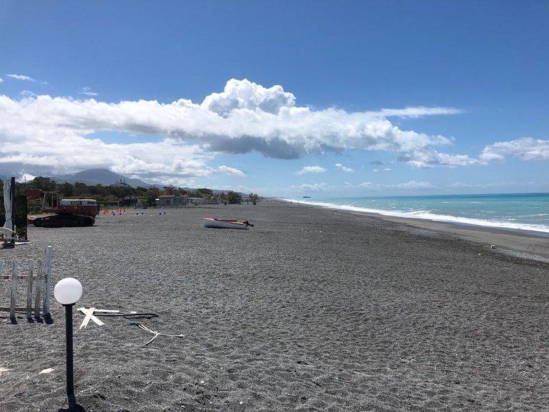 Scalea beach. Off season obviously