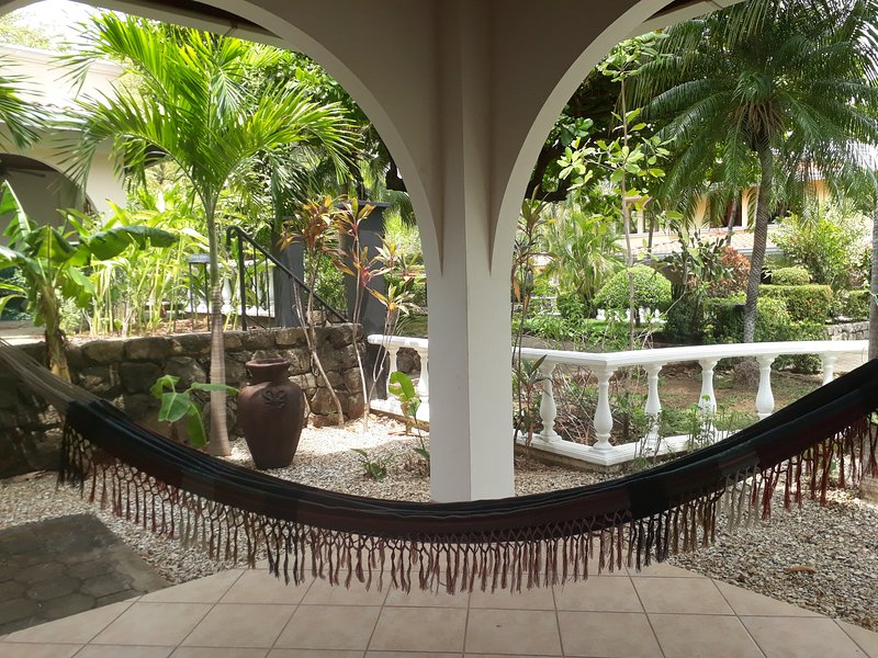 Nothing better than Relaxing in the hammock while you listen to the birds!