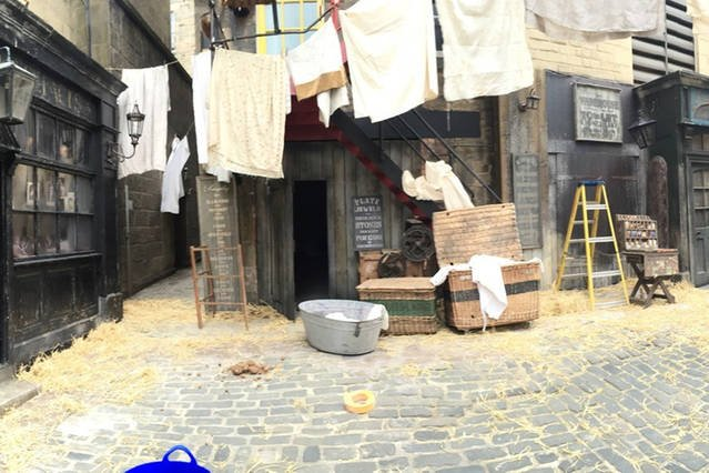 The street recently turned into a film set for BBC's Secret Agent drama