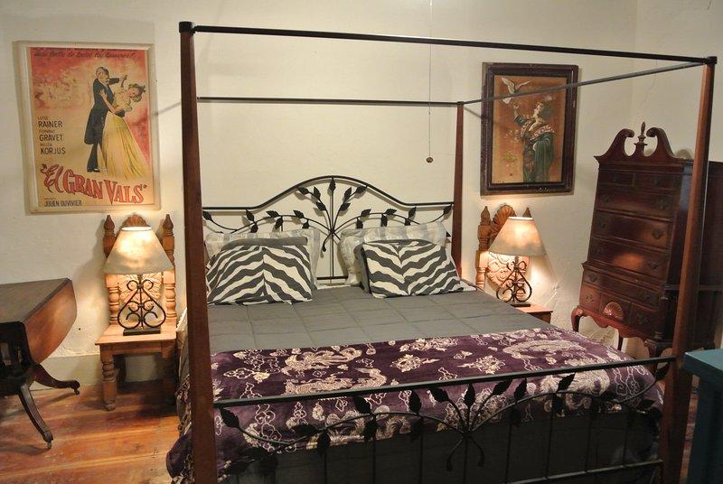 King Bedroom in Main Bunkhouse