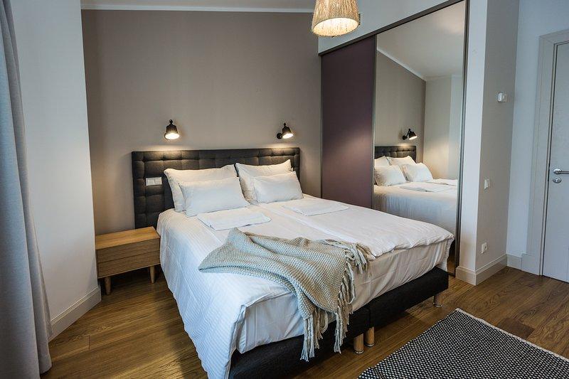 Penthouse Two-Bedroom Apartment with Terraces, location de vacances à Riga
