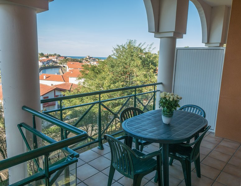 Enjoy the fresh air on your balcony or terrace! (Note: Views vary)