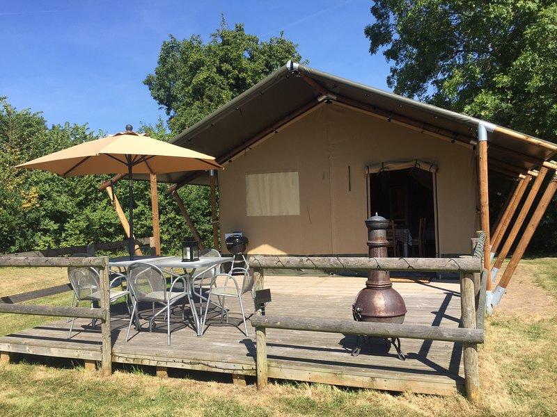 Croome Safari Tent, aluguéis de temporada em Hanley Castle