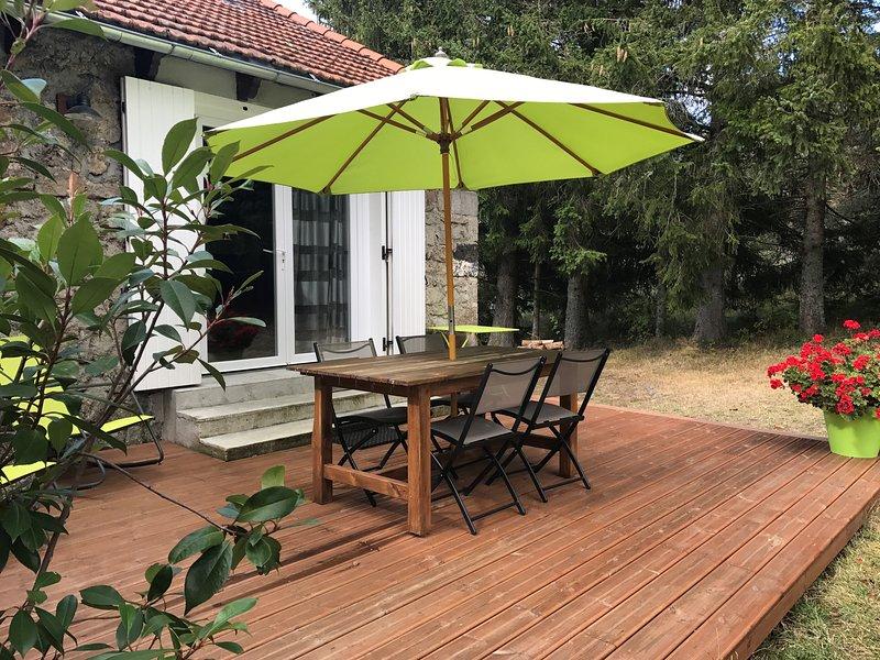 Gîte Myrtille - 5 personnes, holiday rental in Landos