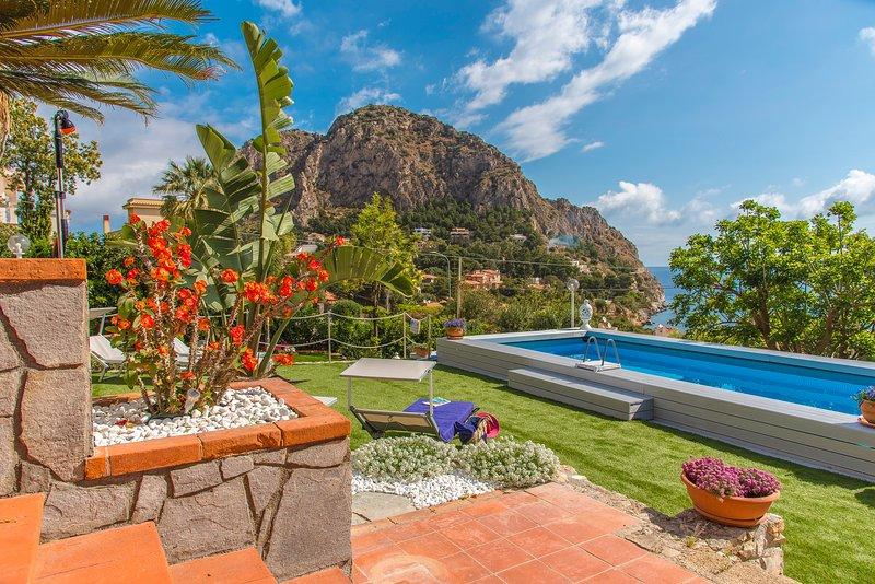 Exclusive Luxury La Villa Di Sofia con Piscina, casa vacanza a Santa Flavia