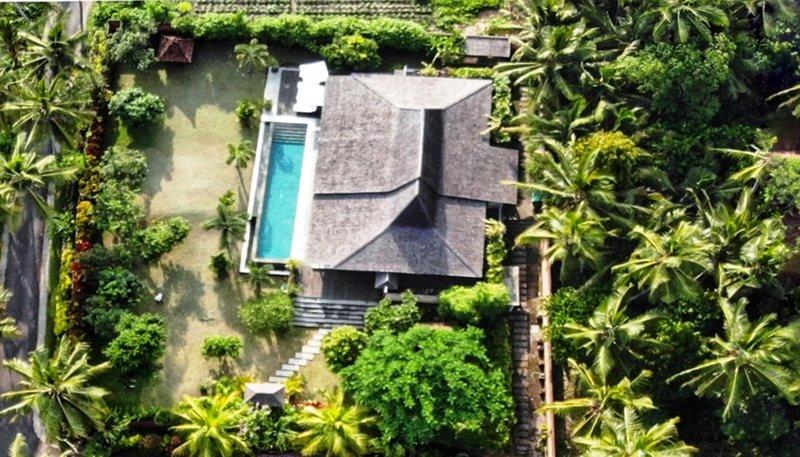 Villa Taman Kanti Vista a volo d'uccello
