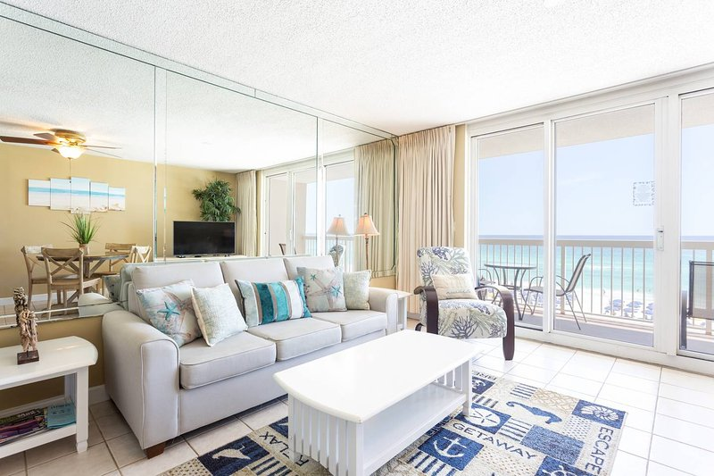 5th floor ocean and beach views with coastal colors
