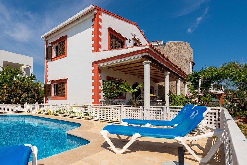 Villa Tortugas, vistas Dalt Vila., casa vacanza a San Carlos