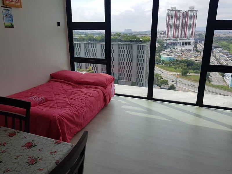 Living Hall - Skypark and City View