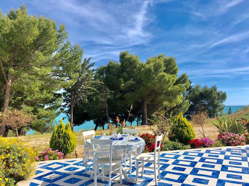 GLICINE by KlabHouse-4pax w/AC terrace-walk2beach, alquiler vacacional en San Giorgio