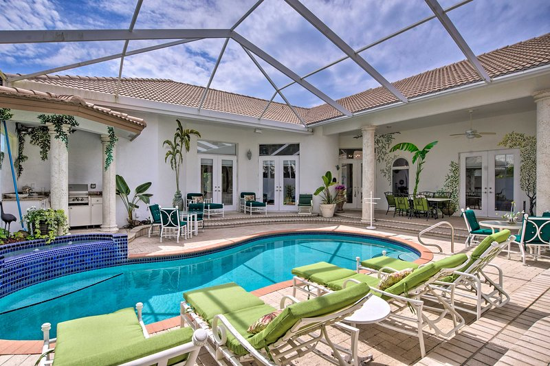 Family vacations don't get much better with this vacation rental villa!