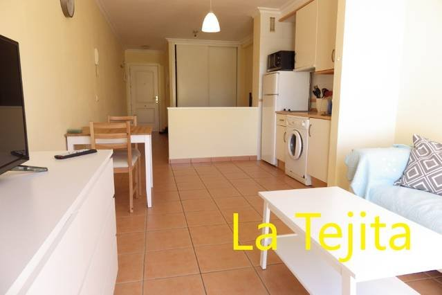 Lovely bright studio close to the beach, holiday rental in La Tejita