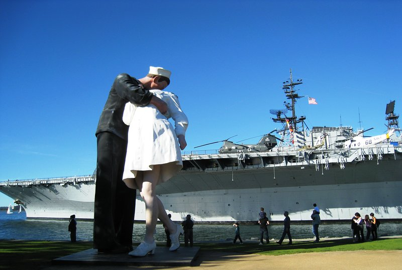 The USS Midway was ranked 5th best museum in 2017, right behind the Smithsonian.