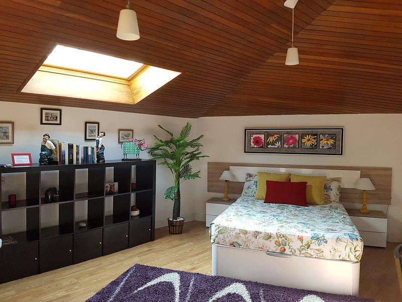 pretty attic, total relaxation