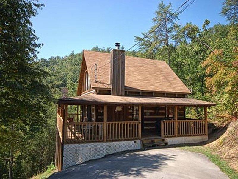 Cabaña de madera de 2 habitaciones