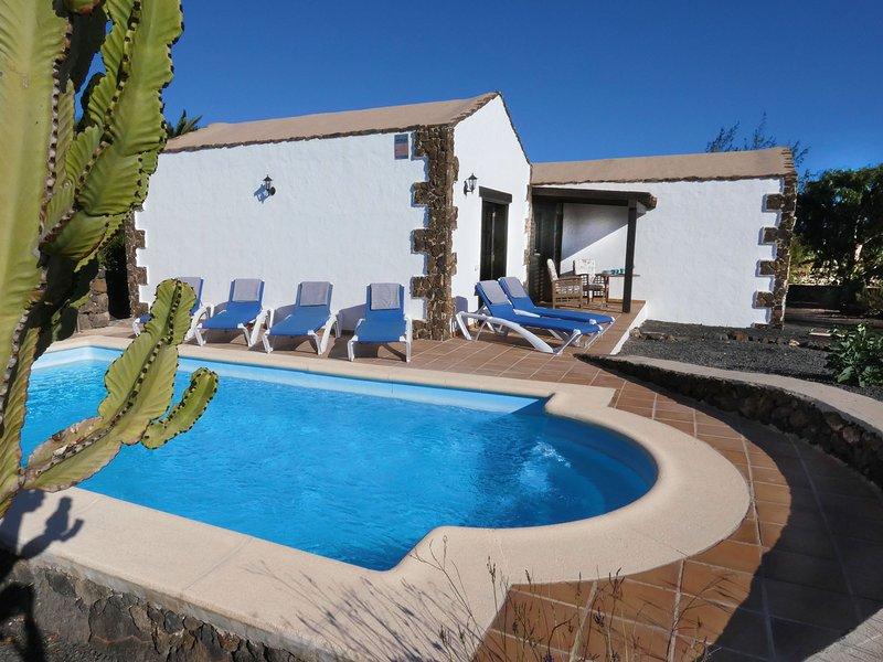 Finca Felix Lajares Fuerteventura, holiday rental in Lajares
